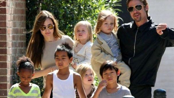 Tres de los hijos de Brad Pitt quieren testificar contra él, en favor de  Angelina | Ibero Show